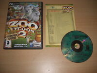 ZOO TYCOON 2 - ENDANGERED SPECIES Expansion Add-on Pack Pc Cd Rom FAST POST