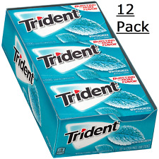 Trident Wintergreen Mint 12 Packs (168 Pieces Total)