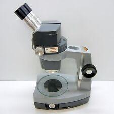 AMERICAN OPTICAL 569 Stereo Zoom Microscope, Desk Stand, 10XWF EYES 30X MAG #353