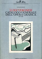 Luigi Veronesi - Catalogo generale dell'opera grafica 1927-1983 - Allemandi.