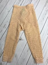Rago High Waist Long Leg Shapewear Extra firming Girdle Style 6207 Beige Size S