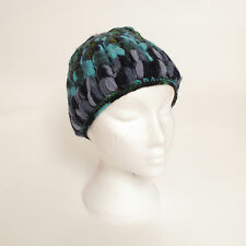 Hand Knitted Winter Woollen Crochet Beanie Hat, One Size, UNISEX CH5