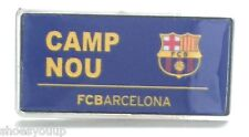 F.C.Barcelona Nou Camp Football Club Enamel Lapel Pin Badge Official Merchandise