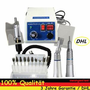 Dental Marathon Zahnarzt Mikromotor N3 35000 RPM Straight Aangle Handstück Neu