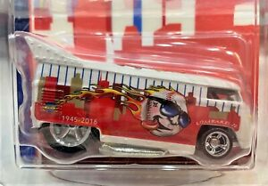 Hot Wheels Newsletter Exclusive Edition Chris Strangler DRAG BUS* 32 of 71 Made