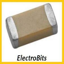 100 X MURATA CAPACITORS SMT/SMD 0402 150PF 5% 50V