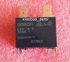 2PCS 12V G4A-1A-E-12VDC G4A-1A-E-CN-12VDC 20A 250VAC OMRON Relay