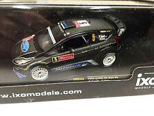 FORD FIESTA RS WRC #5 TANAK Monte-Carlo 2012 IXO RALLY 1:43 DIECAST-CAR- RAM490
