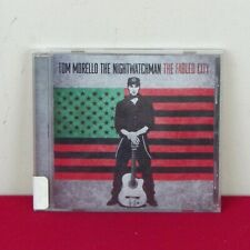 Tom Morello The Nightwatchman The Fabled City CD Guitar Heavy Metal Punk