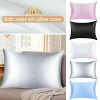 Silk Pillowcase Noble 51*76cm Anti-wrinkle Home Bedding Cover Christmas