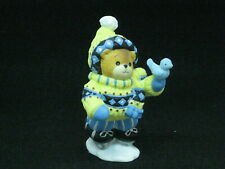 Vintage - Lucy & Me - Skater Bear -1998 - Enesco - Free Shipping