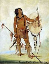 His-oo-san-chees, A Comanche  by George Catlin -1834- Native American Art Print