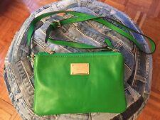 Michael Kors Small Three Section Travel Green Bag
