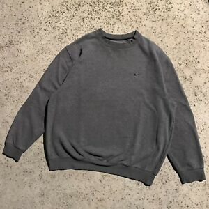 Vintage Nike Sweatshirt XL Crewneck Y2K 2000s Travis Scott Center Check Swoosh