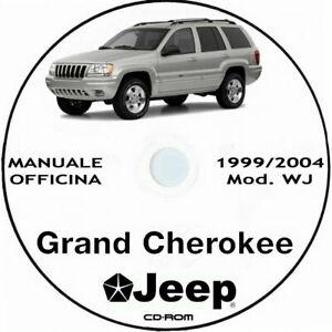 Chrysler JEEP Grand Cherokee (WJ) 1999/2004.Manuale Officina ITA