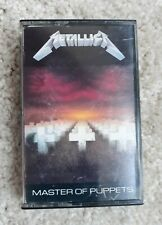 Master of Puppets by Metallica (Cassette, 1986)