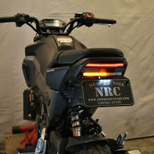 New Rage Cycles Fender Eliminator Kit LED Brake & Turn Signals 13-15 Honda Grom