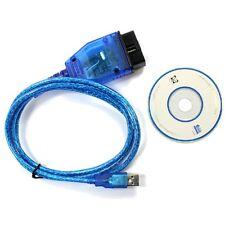 KKL VAG-COM 409.1 OBD2 OBD II USB Cable Auto Scanner Diagnostic Tool Interface