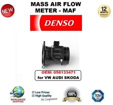DENSO MAF MASS AIR FLOW METER SENSOR OEM: 058133471 for VW AUDI SKODA OE QUALITY