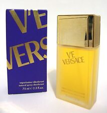 VERSACE V'E WOMEN PERFUME'D DEODORANT BODY SPRAY 75 ML 2.5 FL OZ VE NIB