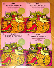 Lot 4 MAY I BRING A FRIEND? Beatrice Schenk de Regniers guided reading CALDECOTT