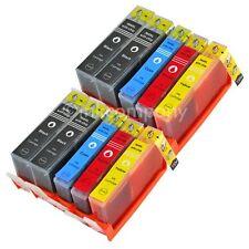 10 Cartucce stampante con chip per HP 364 XL OFFICEJET 4620 4622 Deskjet 3524 3520