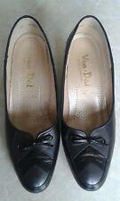Ladies Van Dal Black Leather Shoes Size 4.5D, EX COND!!