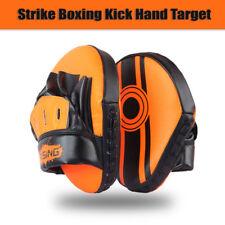 Strike Boxing Kick Hand Target Punch Pad Glove Focus MMA Muay Thai Training PU