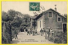 cpa 92 - SCEAUX ROBINSON ( Hauts de Seine) POSTE FORESTIER de l'OBÉLISQUE Animés