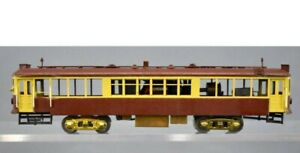 Brass HO Scale Brown Trolley