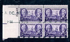 Sc# 941  Plate Block used Jackson and John Sevier pl# 23448