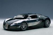 1:18 Autoart Bugatti EB VEYRON 16.4 MALCOLM CAMPBELL 2009 + GRATUIT VITRINE