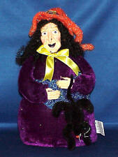 HALLOWEEN WEIGHTED PLUSH WITCH MUST SEE