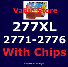 8x 277XL (HY) Inkjet cartridge for Epson Expression Photo XP-850 With chip 277