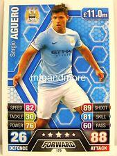Match Attax 2013/14 Premier League - #179 Sergio Aguero - Manchester City