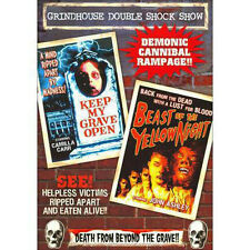 Grindhouse Double Feature: Beast Of Yellow Night & Keep My Grave Open DVD NEW