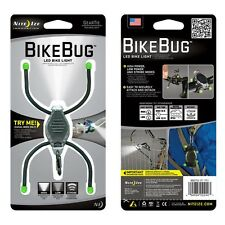 Nite Ize BikeBug White LED Bike Light BugLit BBGT02-07-1701