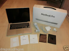 "Apple MacBook Pro 13,3"", Intel Core i5 2,5ghz, 4 Go RAM, 500 Go HDD, 1j. Garantie"