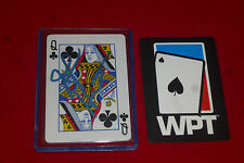 JENNIFER HARMAN poker star signed WPT card
