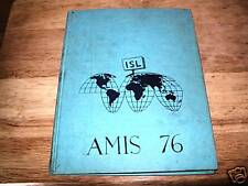 1976 INTERNATIONAL SCHOOL OF LIEGE YEARBOOK, BELGIUM