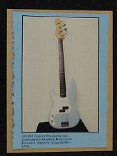 Pop-kard feat. FENDER PRECISION BASS 1963 taglio 11x15cm greeting card AAP