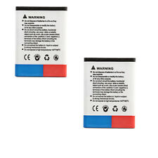 2Pcs 1390mAh Replacement Smart Phone Battery BL-5B For Nokia N90 3230 5300 6121