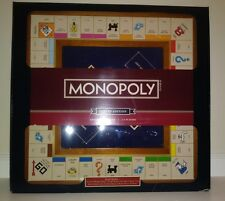 NEW Monopoly Luxury Edition Two-Toned Wooden Cabinet-Adult Collectible 2014