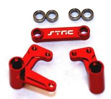 STRC Red Steering Bellcrank System w Bearings Traxxas Slash Rustler ST3743XR