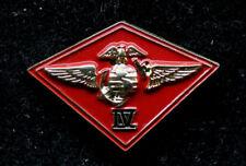 4th MAW MARINE AIR WING US MARINES LAPEL PIN MAW MCAS USMC PILOT AIRCREW RESERVE