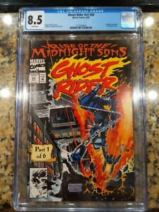Ghost Rider Rise of the Midnight Sons #V2 #28 CGC 8.5
