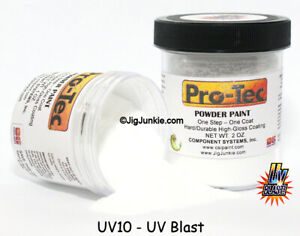 WORLD'S #1 JIG PAINT- PRO TEC POWDER PAINT - GLOW, GLITTER, METALFLAKE, UV BLAST
