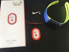 Nike+ Sportband blue/neon watch with x 2 iPod sensors