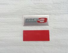 "MG3 NEW DESIGN PAIR BADGSE FOR MG3 ""TIME & ""FORM""  MODELS UNIQUE CAR BADGE LOGO"