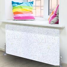 Radiator Art White Galaxy Granite Glass Radiator Cover Medium Glass Splashback